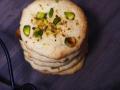 vegane Marzipan-Cookies mit Pistazien