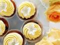 Cupcakes mit Zuckerblumen